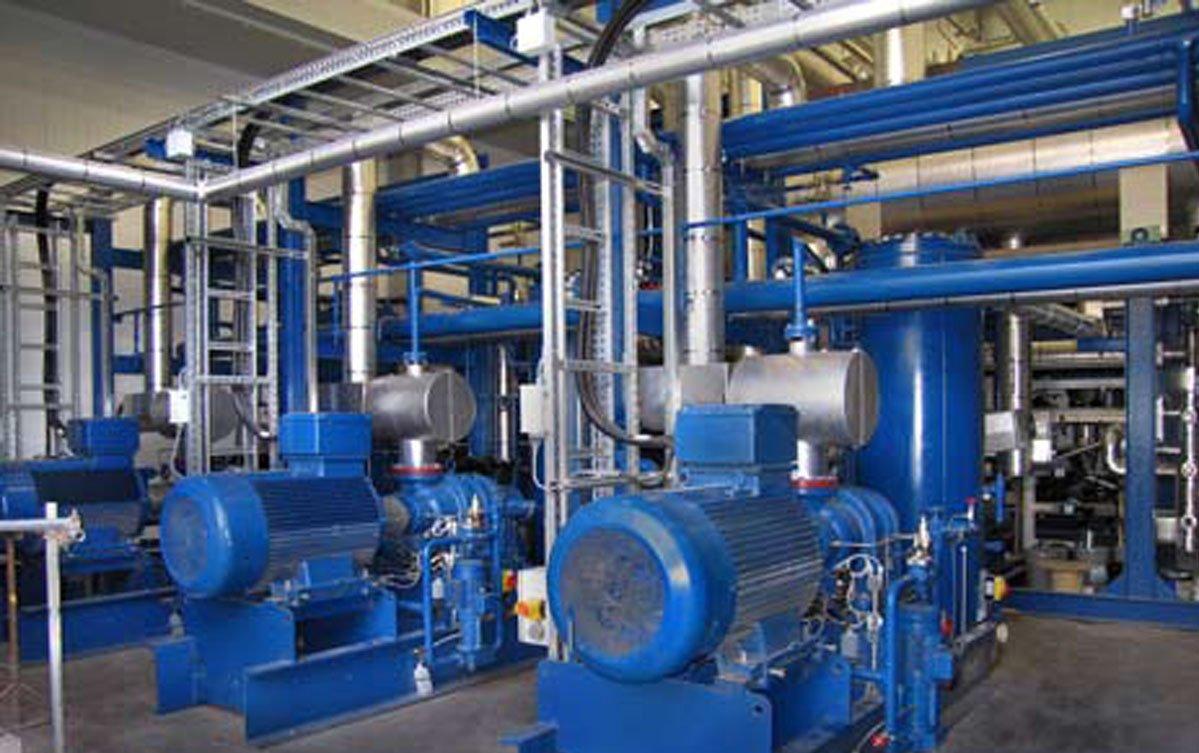 energy efficient cooling plant