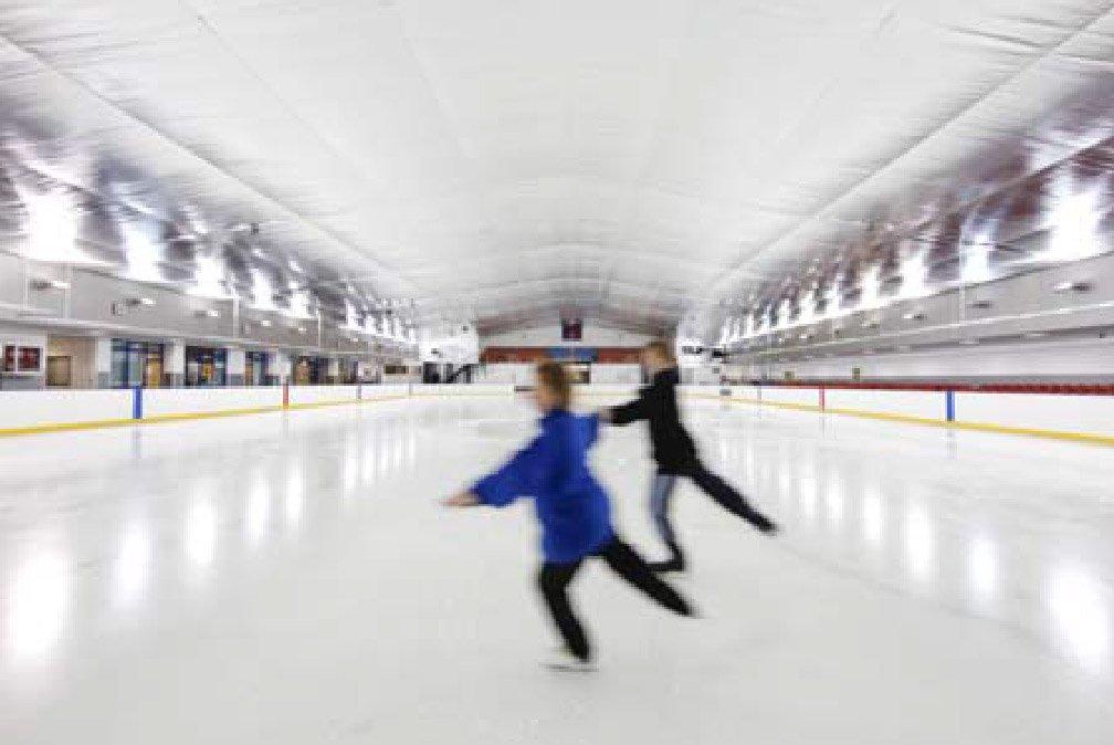 ice green at Solihull Rink