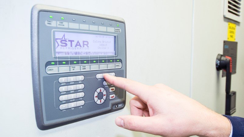 plc refrigeration controls