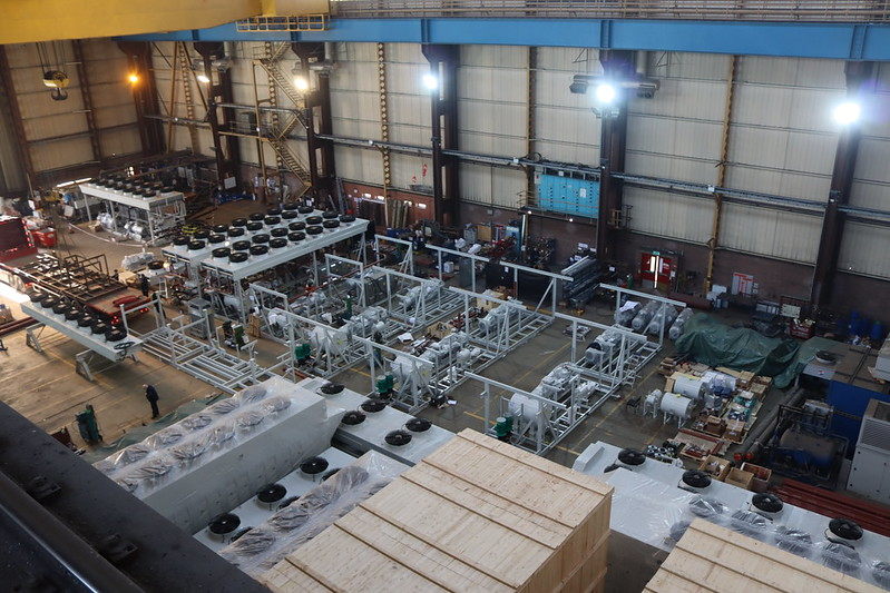 tar Refrigeration's Westway factory currently manufacturing over 10MW of cooling equipment